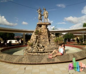 plaza principal de lamas