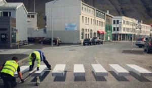 paso peatonal islandia