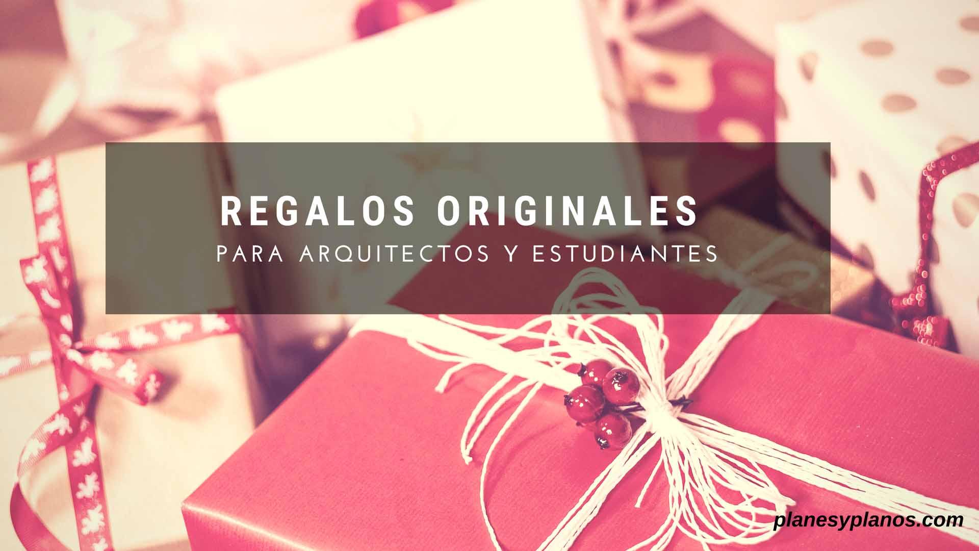 regalos para arquitectos