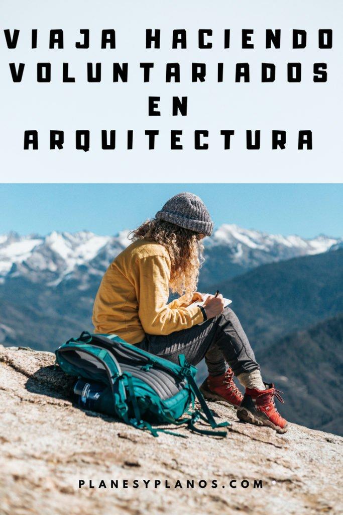 voluntariado para arquitectos