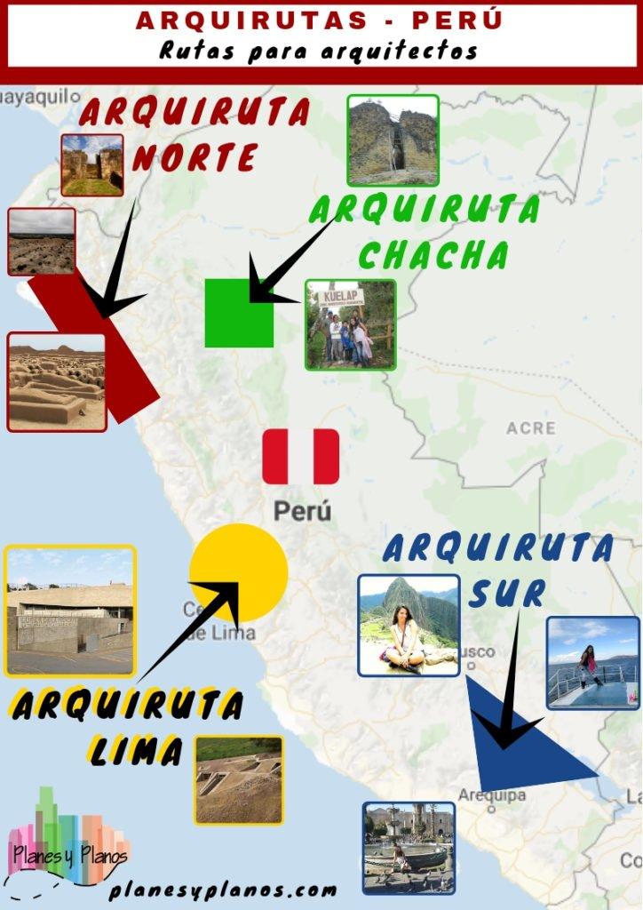 rutas de arquitectura por perú