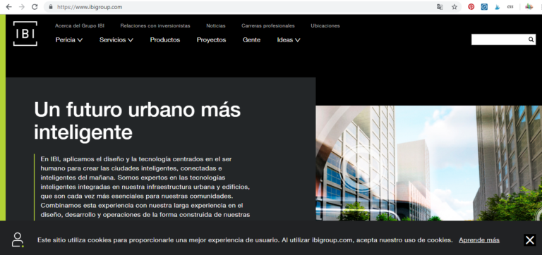 Web de arquitecto IBM