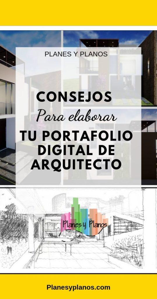PORTAFOLIO DE ARQUITECTURA