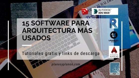 software para arquitectura
