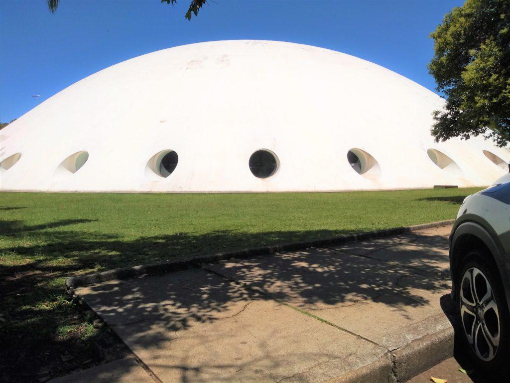 el parque Ibirapuera en Sao Paulo, un ejemplo de arquitectura