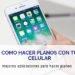 como hacer planos con tu celular
