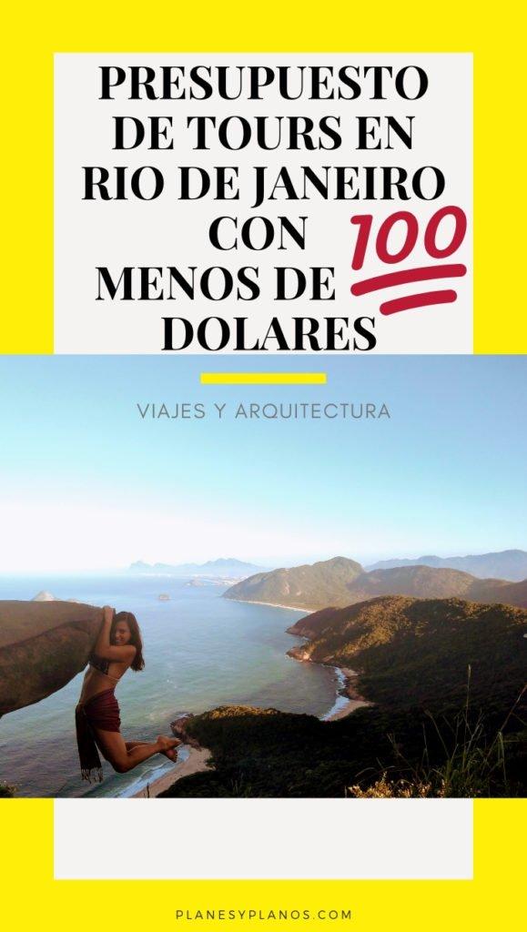 PRESUPUESTO PARA RIO DE JANEIRO CON MENOS DE 100 DOLARES