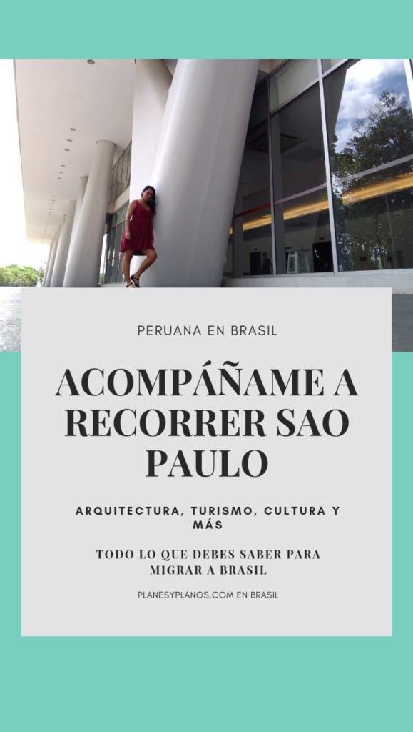recorrido de arquitectura en sao paulo  gratis, recorridos a pie. Centro histórico y arquitectura moderna