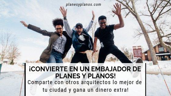 EMBAJADORES DE PLANES Y PLANOS