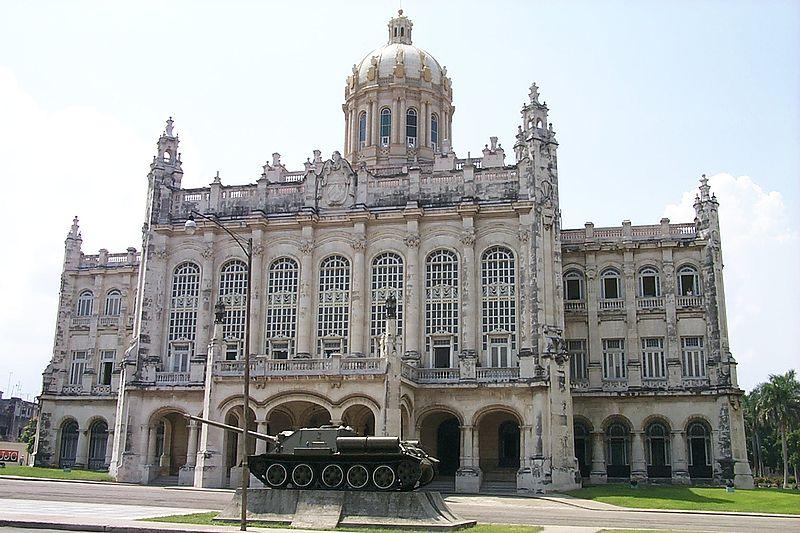 ARQUITECTURA EN LA HABANA CUBA, MUSEO DE LA REVOLUCION