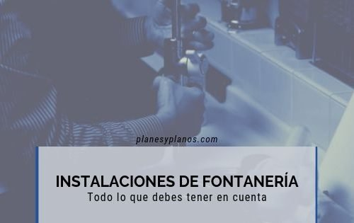 proyecto de instalaciones de fontanería