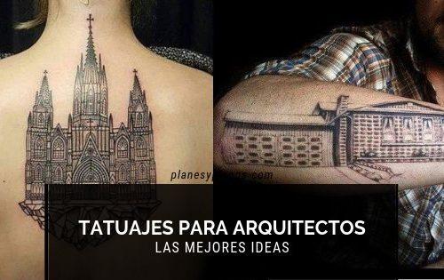 tatuajes para arquitectos