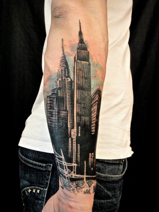 tatoo de edificio