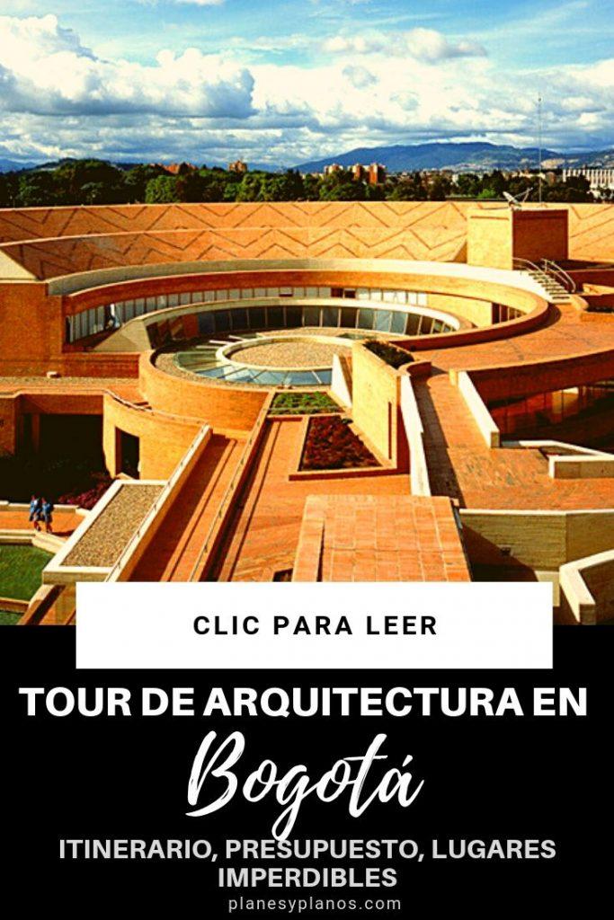 Recorrido de arquitectura en Bogotá