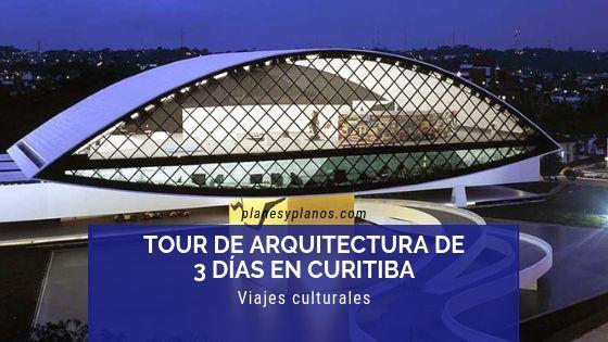 arquitectura y guía de viaje para curitiba