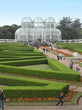 jardín botánico en curitiba
