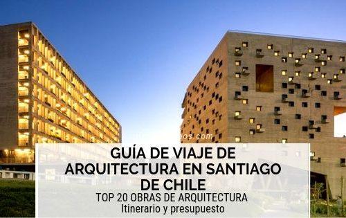 arquitectura en santiago