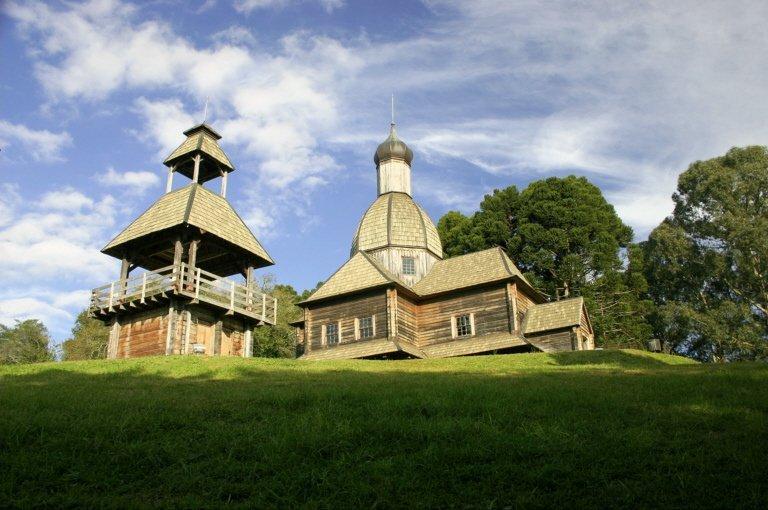 Parque Tingui - Memorial Ucraniano