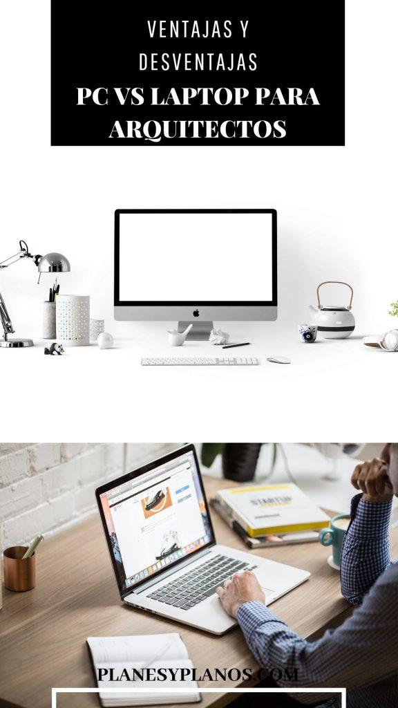 computadora de escritorio o laptop