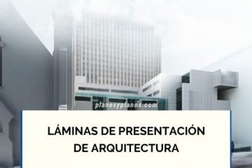 LAMINAS DE PRESENTACION DE ARQUITECTURA