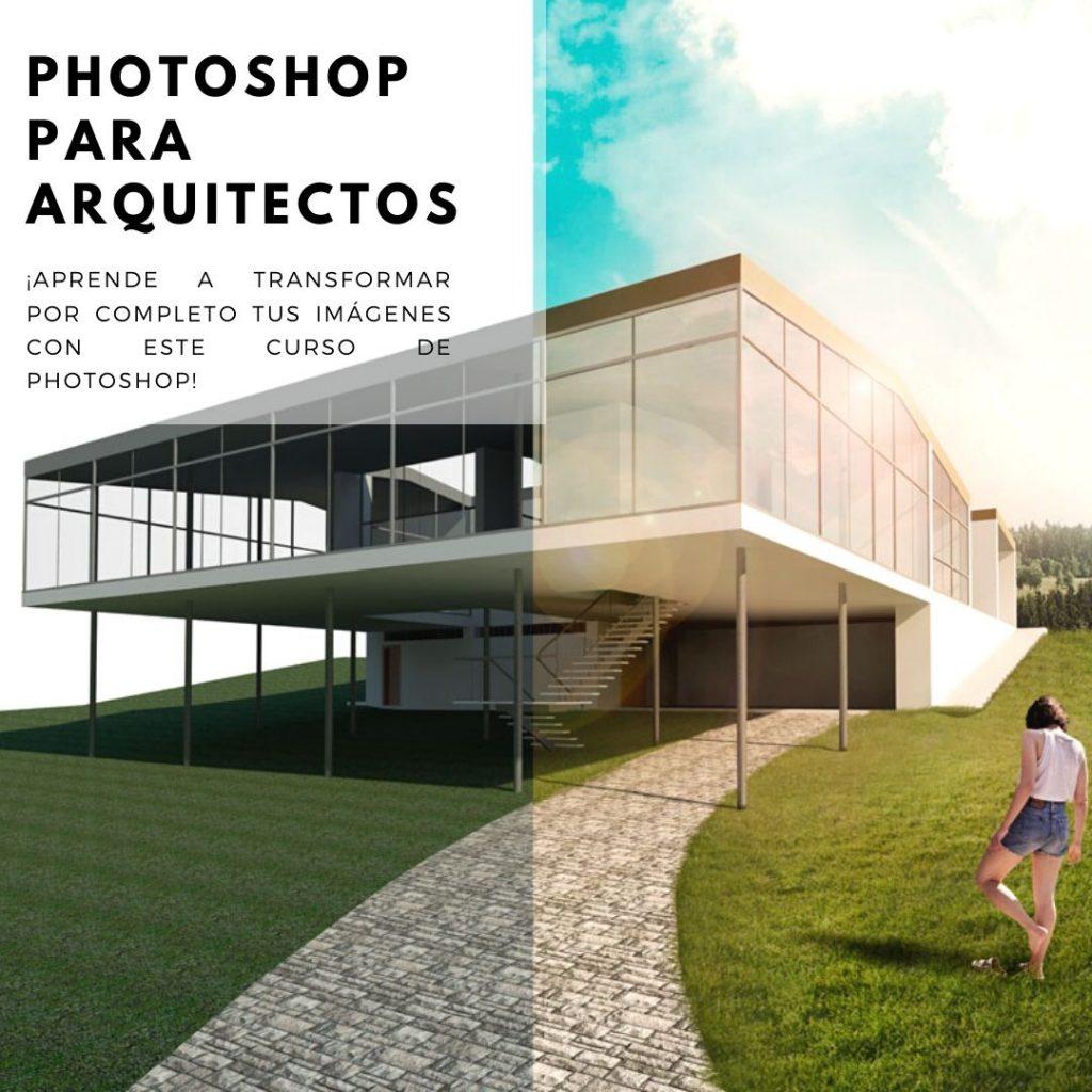 CURSO DE PHOTOSHOP PARA ARQUITECTOS