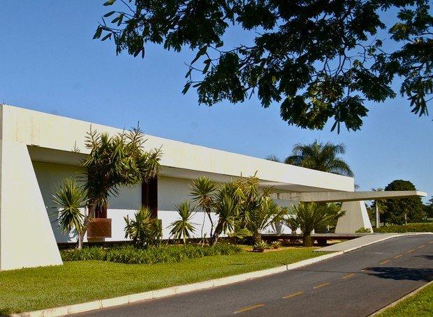 Palácio do Jaburu paisajismo y urbanismo en brasilia