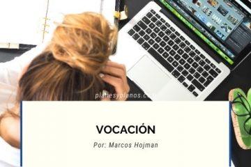 VOCACION EN ARQUITECTURA