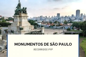 MONUMENTOS DE SÃO PAULO